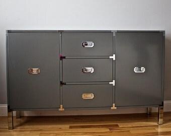 New England Made Custom Built Campaign Dresser