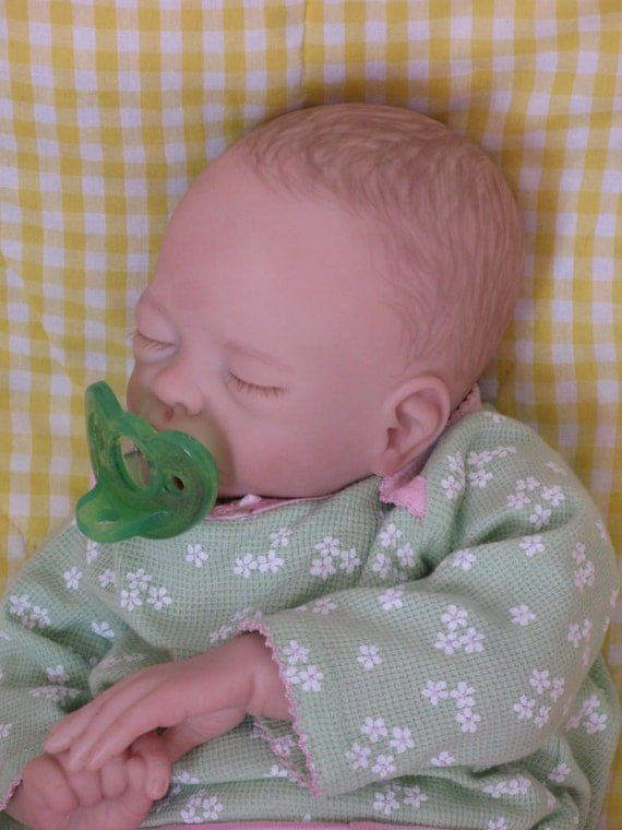 Sale Open Mouth Reborn Baby Girl Molly Sculpt By Tasha