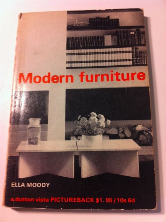 Modern Furniture By Ella Moody London Vintage 1966 Picture
