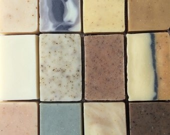 Soap Set - Choose any 8 bars, All Natural, Handmade Cold Process soap, essential oil soap, unscented soap