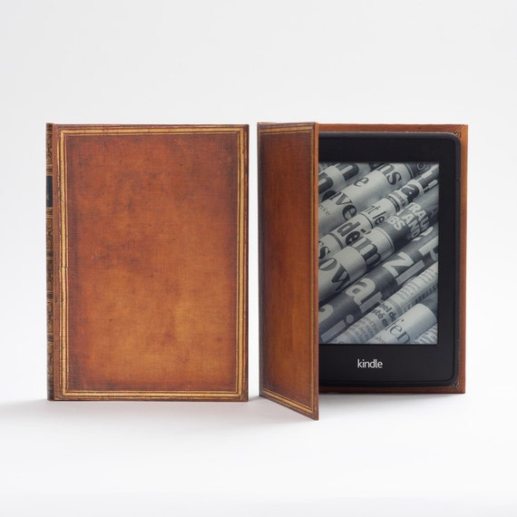 Classic Book Cover Kindle Cases : Kindle cover classic hardback book case