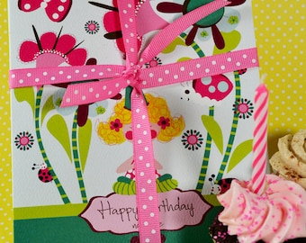"""3 Yoga Birthday cards, value pack of cards, pack of birthday cards, yoga birthday cards, birthday greeting cards, 5 x 7"""""""
