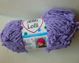 Yarn Sale  - Grape Lolli by Red Heart