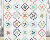PATTERN:  KALEIDOSCOPE -  by V and Co. - Fat Quarter Friendly - VC1212