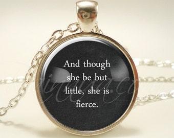 Personalized Quote Necklace, Custom Jewelry, Gift Idea, Black Chalkboard Design (1837S1IN)