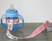Sippy Cup Leash   Sippy Strap   Sippy Cup Strap Suction Cup   Bottle Tether   Sippy Cup Strap   Suction Sippy Strap   Elephants