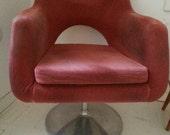 Retro 70s revolving chair