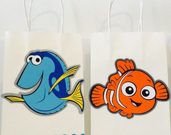 NEMO inspired goodie bag / Nemo party / under the sea party