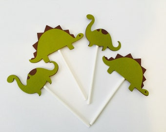 DINO cupcake topper / Dinosaur party / party decor / Kids party / party decorations