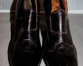 Wonderful Edwardian Shoes, Very narrow.