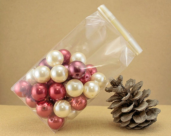 Wedding Favor Bags Plastic : Wedding favor bag with gold tin tie Clear plastic bag Stand up favor ...