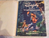 "Vintage Children's Book, ""Safety"" Roy Raccoon & Rob Rabbit, Copyright 1943, Colorful Illustrations Lithographed in USA"