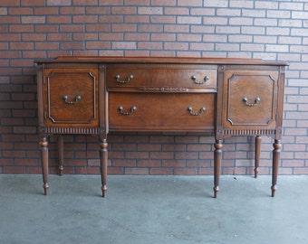 Sideboard / Buffet / Antique Sideboard   French Regency Buffet / 1920-1940's era~ Paint To Order ~
