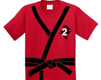 Ninja Birthday, Ninja Birthday Shirt, Ninja Shirt, Karate Party