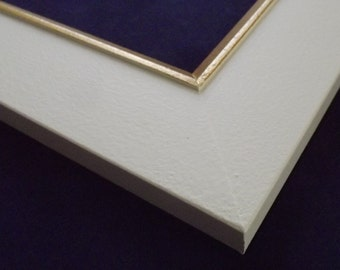 16 x 20 Ready to Ship picture frame ~ Winter Wheat Yellow and Gold  ~ 2 in Wide x 1/2 in Tall x 3/8 inch Deep Moulding