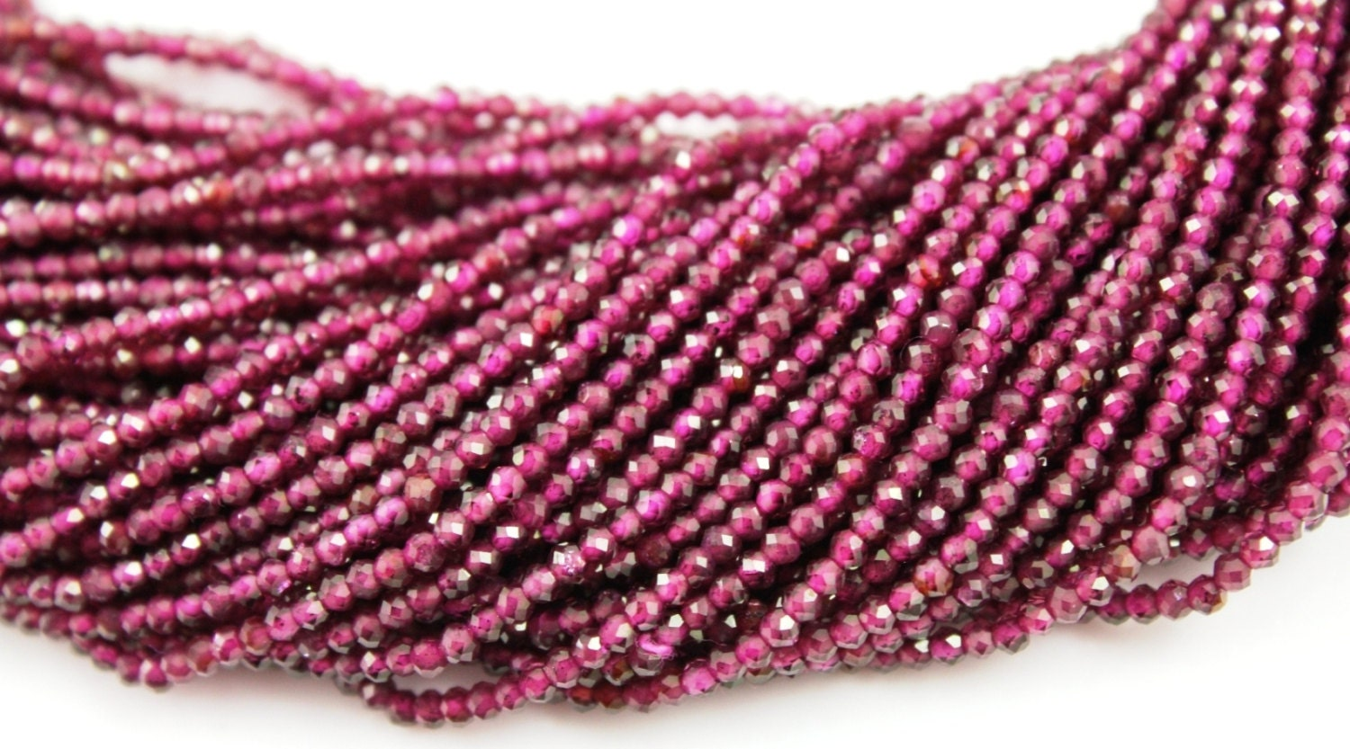 natural garnet micro faceted rondelle beads aaa quality gemstones appx 2mm 1 strand gar 2mm. Black Bedroom Furniture Sets. Home Design Ideas