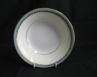 AYNSLEY Bone China GLENWOOD NILE Green Band Soup Cereal Bowl 1170