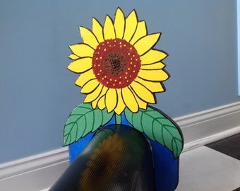 BOX TOPS Sunflower Mail Box Topper