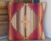 "Southwestern Pillow Cover 18"" x 18"""