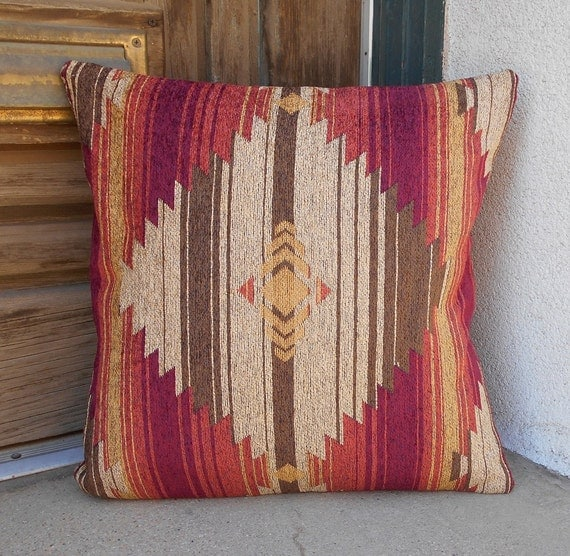 Southwestern Pillow Covers 24 X 24 : Southwestern Pillow Cover 18 x 18