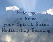Get to Know your Spirit Guide Mediumship Board VIDEO Reading