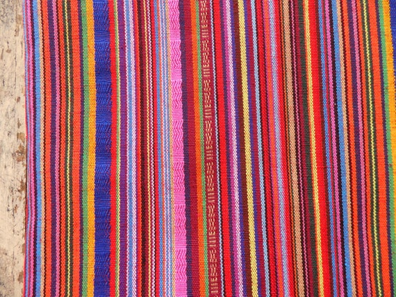 Extra Wide 60 Cotton Fabric In Pink And Red Extra Wide Fabric For Home Decor Accessories Red And Pink Boho Striped Fabric One Yard From Tintinbeads