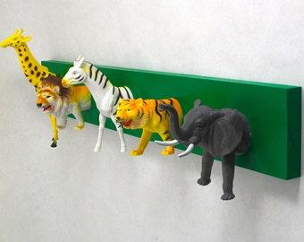 Safari Animal Coat Rack (any color)