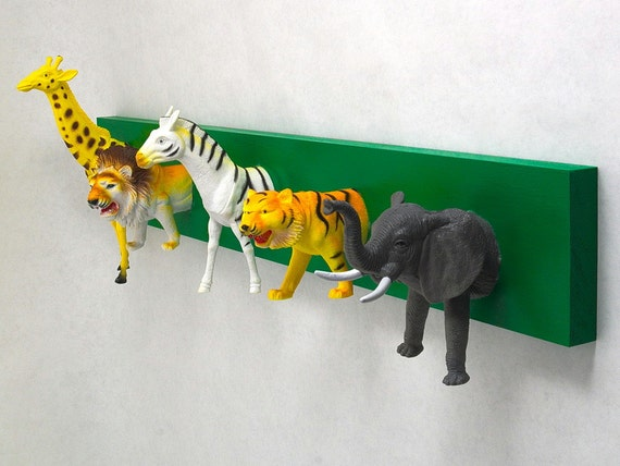 Safari Animal Coat Rack (any color)