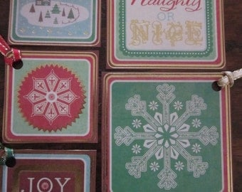 Christmas Tags - B2G1 - Buy 2 Get 1 Free - Gift Wrap