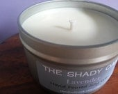 Hand Poured Lavender Soy Wax Candle in 8oz tin
