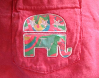 Lilly Pulitzer Fabric Republican Shirt (Short Sleeve, Long Sleeve or Tank)