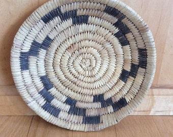 vintage woven basket Aztec