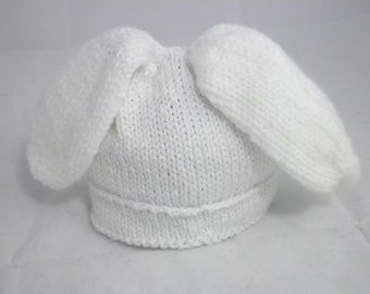 Baby Bunny Hat with Floppy Ears