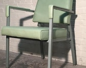 Mid-Century Office / Industrial / Lounge Chair By All Steel - Mad Men / Eames Era Decor * SHIPPING NOT INCLUDED *