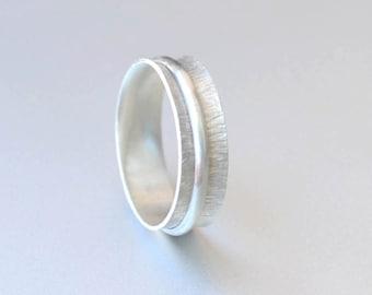 Spinner Ring - Sterling Silver Ring