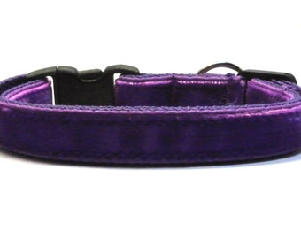 Posh Velvet Breakaway Cat Collar