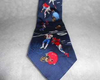 Utopia Football Necktie 100% Silk