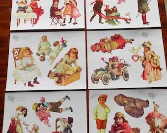 Gretna Collection of Paper Dolls - Scrapbooking - Ephemera - Altered Art