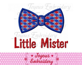 Instant Download Little Mister Embroidery Applique Machine Design NO:1690