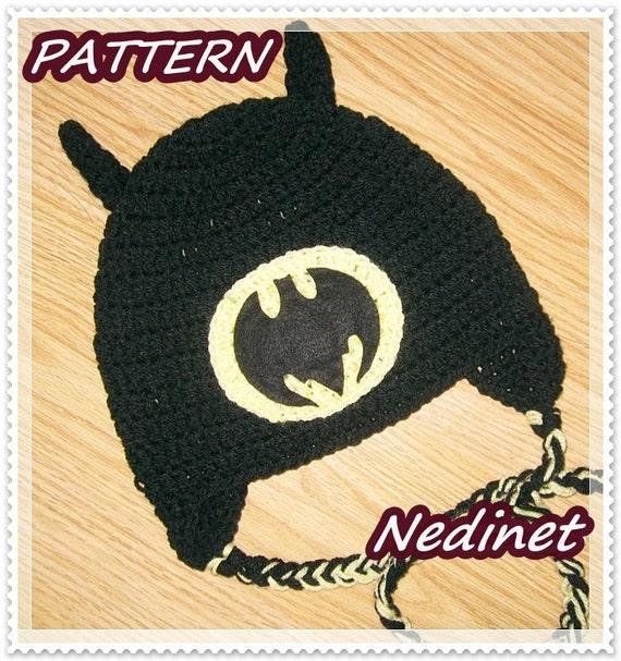 Crochet Batman Mask Hat Pattern Pakbit For