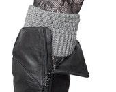 Merino Wool Crochet Boot Cuffs, Boot Socks, Boot Toppers, Leg Warmers