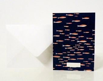 """1 """"Sardines"""" card - 1 carte """"Sardines"""""""