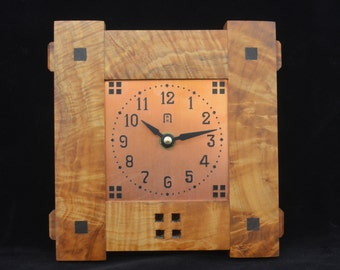 Craftsman Small - Mission Style Wall Clock