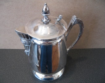 Vintage Silverplate Individual Tea/Coffee Pot