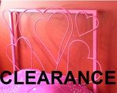 Floating Hearts Headboard
