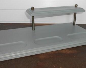 Wood Valet-Desk Valet-Dresser Valet-Jewelry Holder-Dresser Organizer-Painted Wood Dresser Valet-Desk Valet-Painted and Distressed