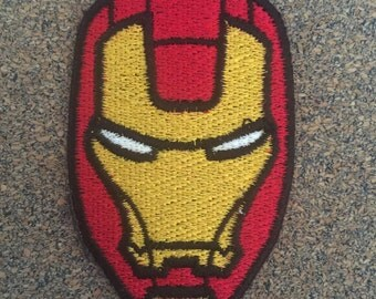 Iron Hero Iron on or sew on Patches