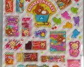 Rilakkuma  Bear Stickers (SE24803)
