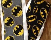 Batman baby burp cloth superman vs  premuim diaper six ply manly husband friendly