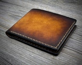 01 Personalized Leather Wallet for men. Mens Leather Wallet. Bifold Leather Wallets. Mens Leather Wallets.